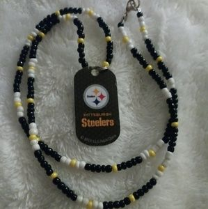 Other - PITTSBURGH STEELERS Dog Tag Necklace